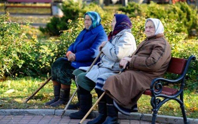 Фото: в Украине на 10 млн работающих приходится 12 млн пенсионеров