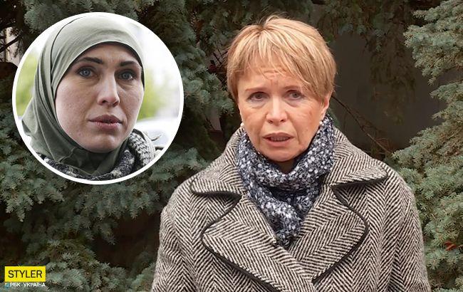 Очень много инсинуаций: мать Амины Окуевой выступила с обращением