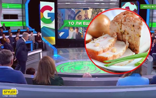 """""""Сала настоящего нет"""": на росТВ опозорились высказыванием об Украине"""