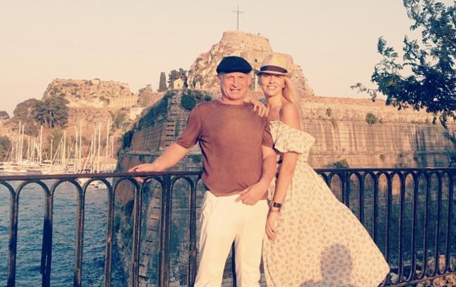 Фото: Оля Полякова з чоловіком Вадимом