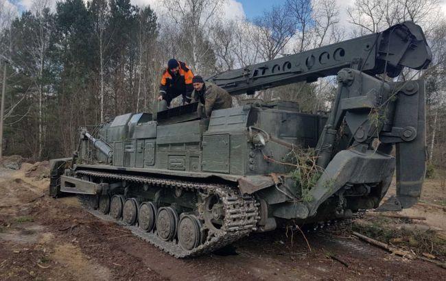 Пожежа у Чорнобильській зоні: рятувальники створили 800 км протипожежних смуг