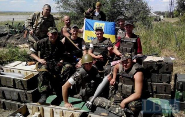 Фото: Військові з АТО (nbnews.com.ua)