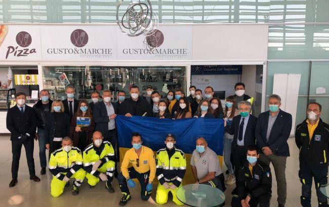 Украинские медики завершили миссию в Италии и возвращаются домой