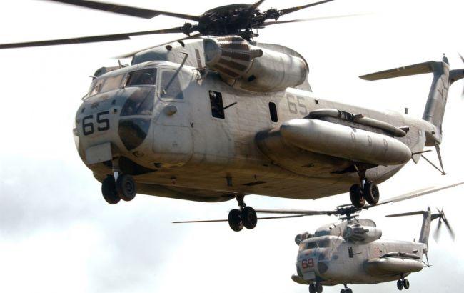 Фото: вертольоти CH-53 Sea Stallion