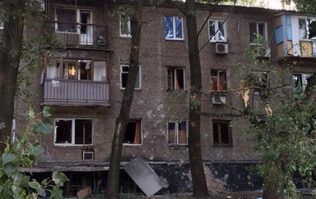 В Донецке из-за ночных обстрелов пострадали дома и коммуникации, - мэрия