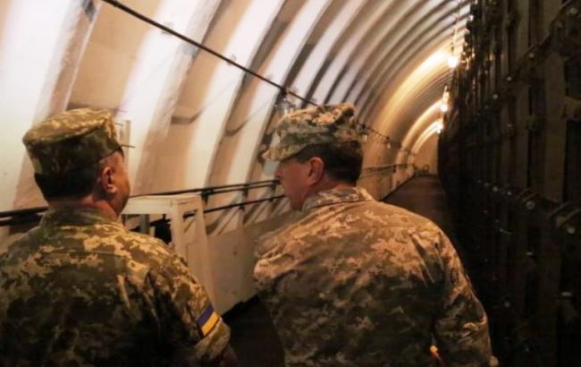 В Україні будують 15 нових сховищ боєприпасів за стандартами НАТО, - Міноборони