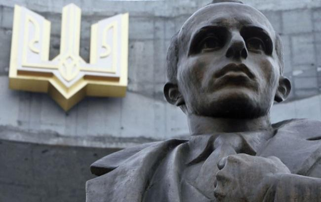 Фото: Пам'ятник Степану Бандері (radiosvoboda.org)