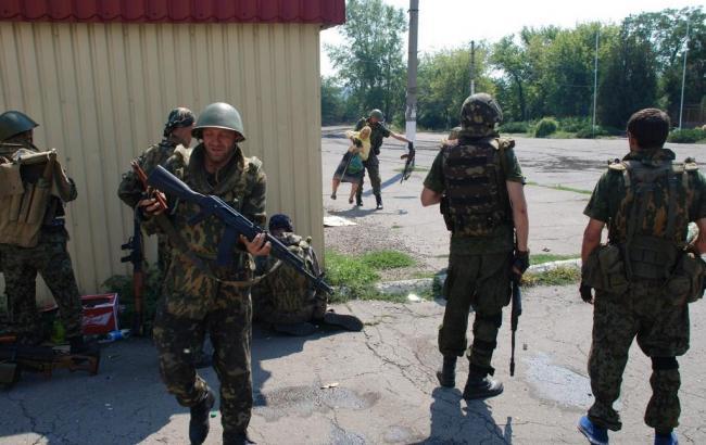 Бой в Трехизбенке завершен, пострадавших нет, - штаб АТО