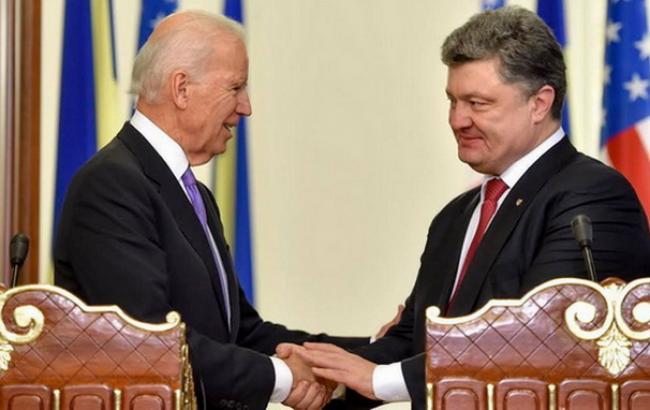США готові надати Україні кредитні гарантії в 1 млрд дол. у 2015 р., - Байден