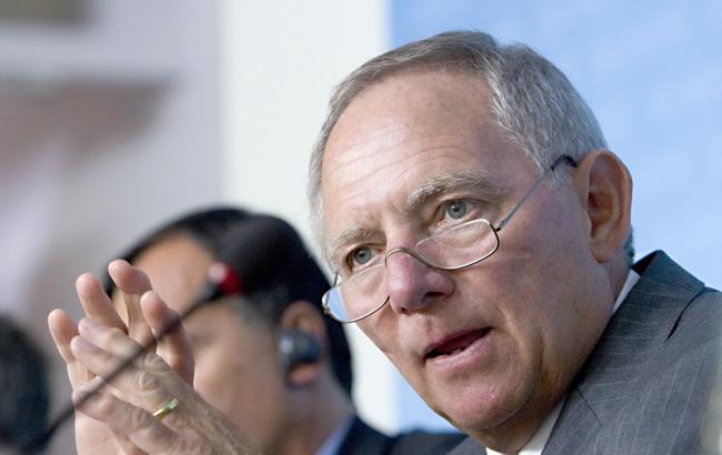 Фото: міністр фінансів Німеччини Вольфганг Шойбле