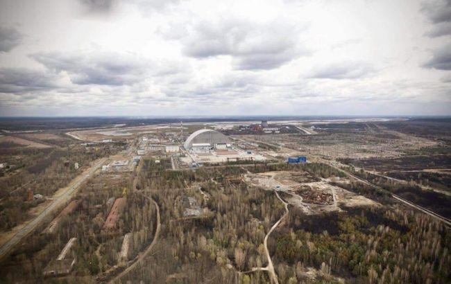 Лісову пожежу у Чорнобильській зоні локалізували
