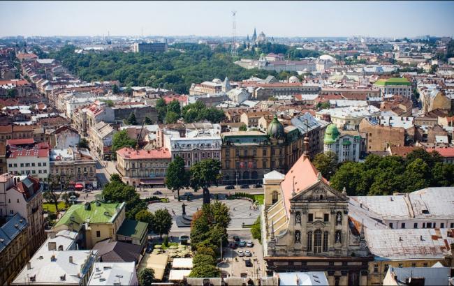 Фото: Один из самых крупных городов Украины —Львов