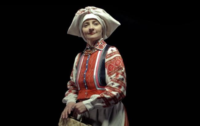 Фото: Одяг жительок Рівненської області в 19-му столітті (youtube.com/FILM.UA Group)