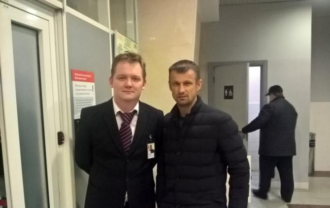 Фото: Росіянин та тренер з Луганська
