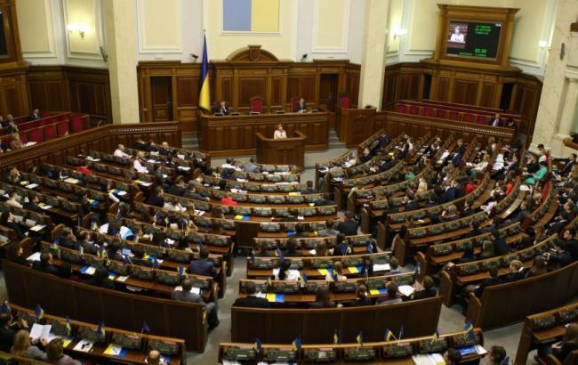 ОПОРА: Рада принимает один из 10-ти зарегистрированных законопроектов
