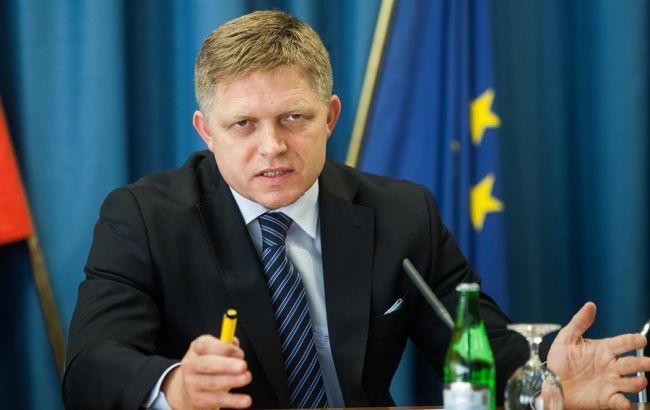 Фото: премьер-министр Словакии Роберт Фицо