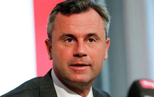 Фото: кандидат в президенти Австрії Норберт Хофер