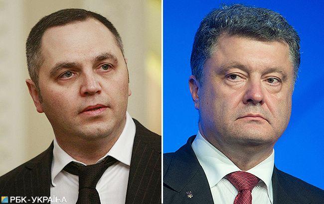 ДБР розслідує вже дві справи проти Порошенка за заявами Портнова