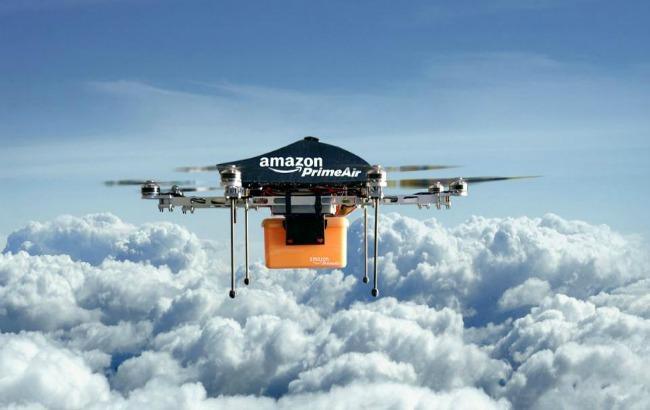 Фото: Amazon придумав як заряджати дрони (bidnessetc.com)