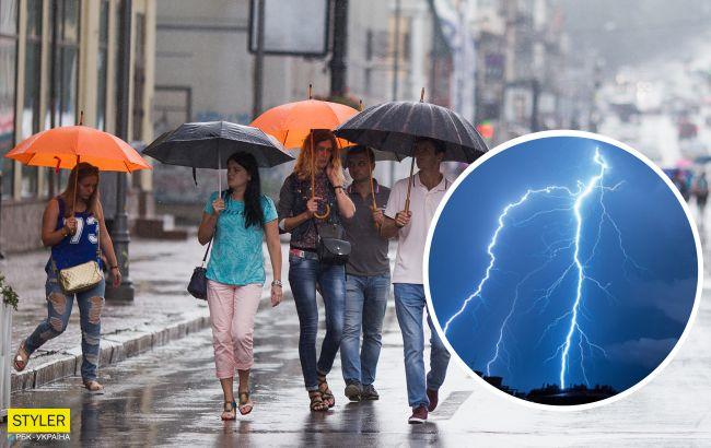 Тропические дожди и грозы: погода в Украине резко поменяется