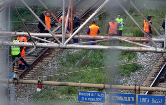 В Італії в залізничному тунелі вибухнула цистерна, п