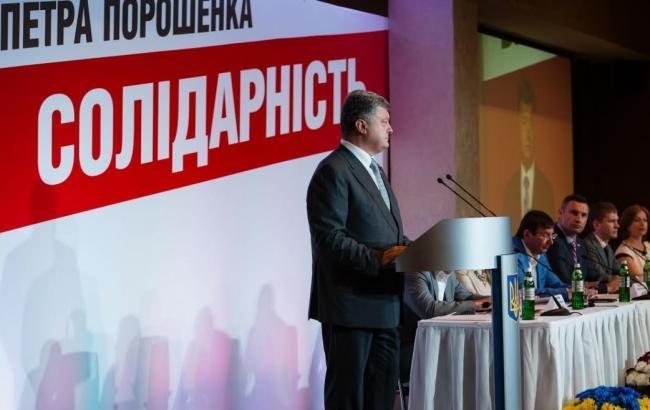 """Фото: партія БПП """"Солідарність"""" оприлюднила фінансовий звіт"""