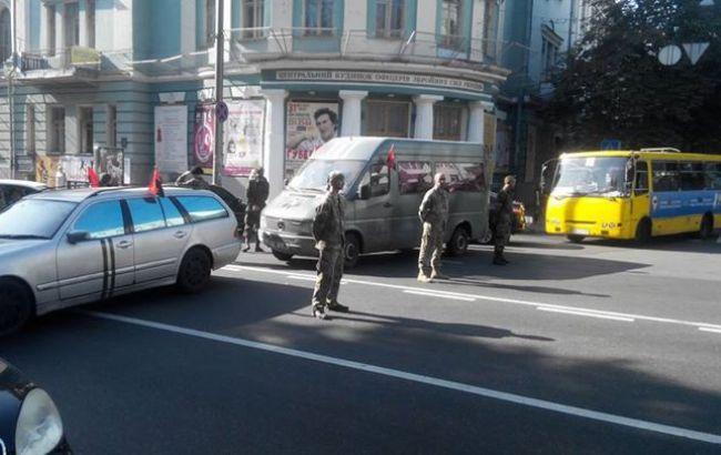 Милиция предупредила об ответственности перекрывших движение в центре Киева