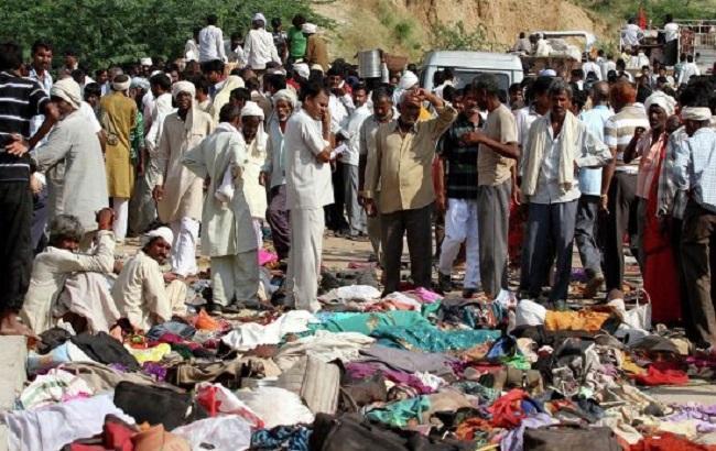 Фото: жертви тисняви в Індії