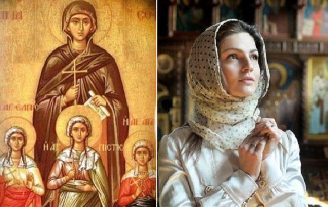 Трагическая история праздника Вера, Надежда, Любовь и мать их София напоминает о преданности Христу