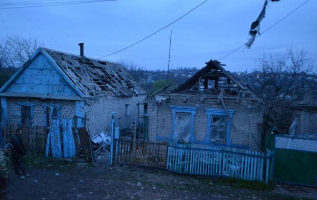 Фото: наслідки обстрілу Авдіївки