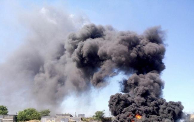 Фото: пожежа в Одесі
