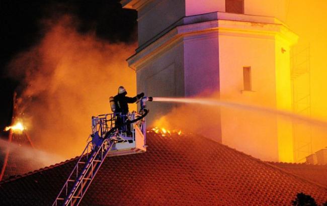 В Сан-Паулу огонь уничтожил музей