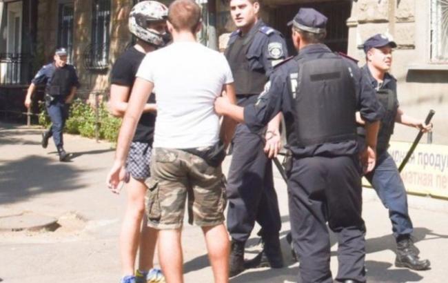 """""""Свобода"""" взяла на себя ответственность за срыв открытия ЛГБТ-фестиваля в Одессе"""