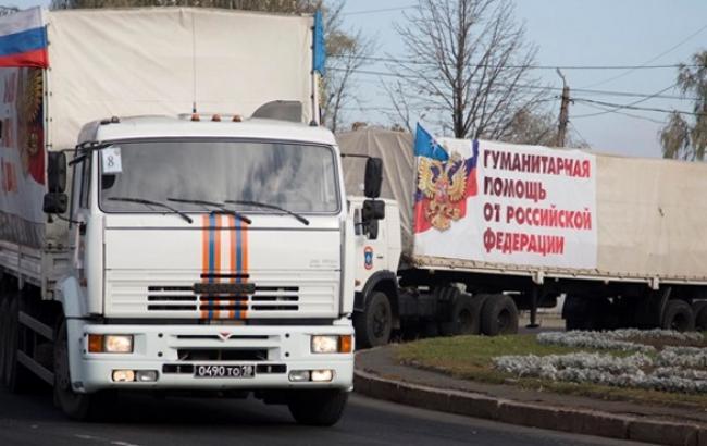 """Границу Украины пересекли 124 грузовика """"гумконвоя"""" РФ, - Госпогранслужба"""
