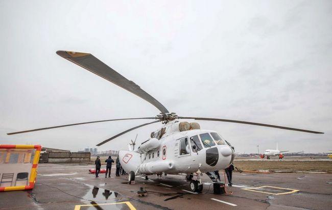 МВС направило вертоліт для вивезення хворих на коронавірус з Чернівецької області