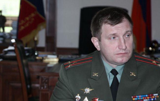Фото: российский полковник Андрей Рузинский