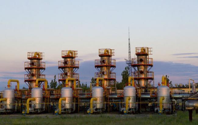 Количество газа в ПХГ Украины сократилось на 0,1% - до 16,716 млрд куб. м