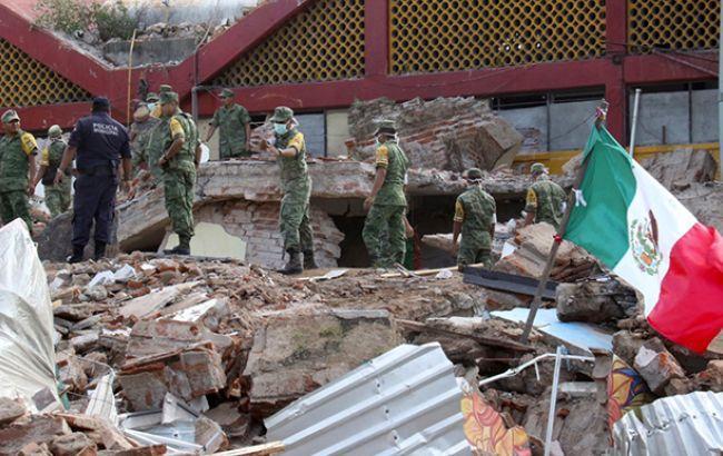 Уберегов Мексики вновь случилось землетрясение