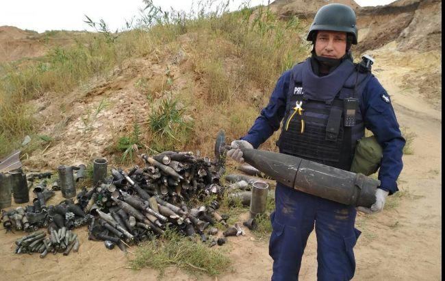 Пожар ивзрывы наДонетчине: вблизи военного склада изъяли 150 боеприпасов