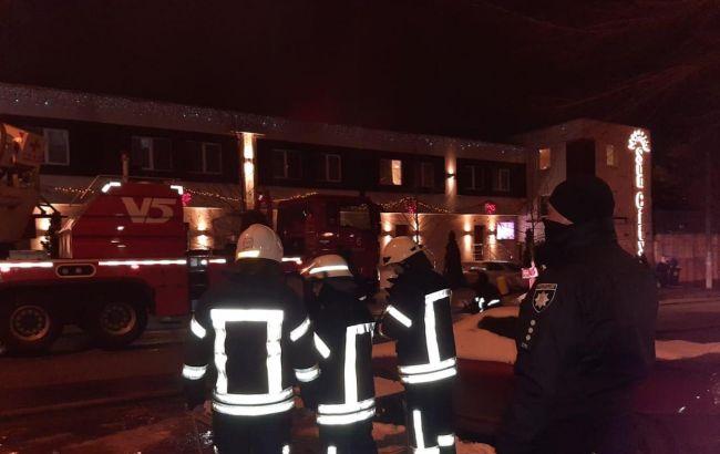 Пожар в гостинице в Одессе: владельцу сообщили о подозрении
