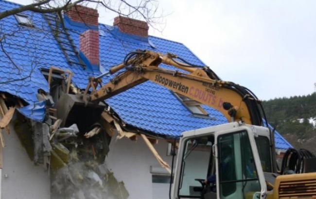 Киевсовет планирует сносить незаконные постройки