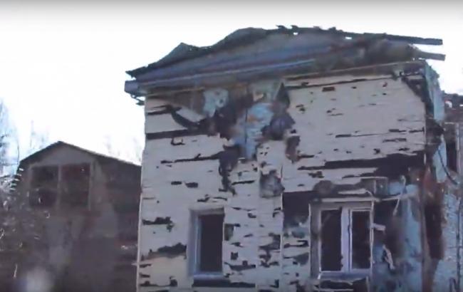 """""""Колись тут були люди"""": в мережі показали, що зробив """"російський світ"""" з селищем під Донецьком (відео)"""