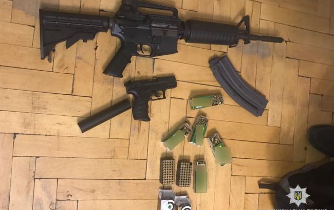Фото: вилучна оружие (npu.gov.ua)