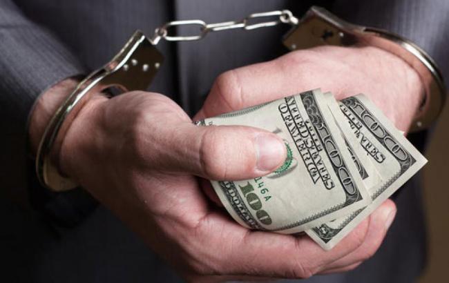 Фото: чиновник арестован за взятку