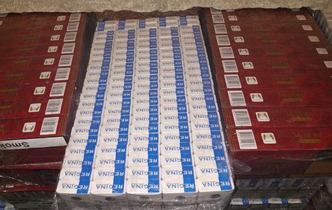 На границе с Румынией обнаружили партию контрабандных сигарет
