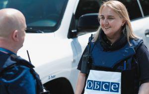 После блокирования боевиками ОБСЕ возобновила патрулирование с базы в Горловке
