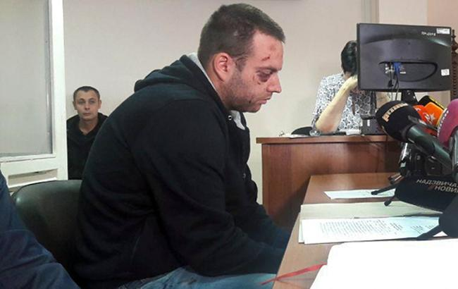 Фото: виновник ДТП в Одессе (dumskaya.net)