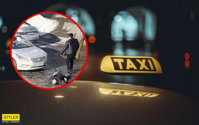 Стало известно, кого в центре Киева убил таксист-иностранец