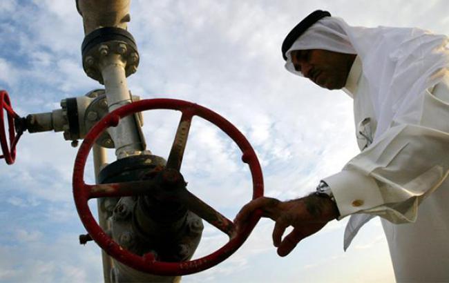 Ціна нафтового кошика ОПЕК виросла на 1,9% і вперше майже за 3 тижні перевищила 44 дол./бар