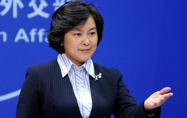 В КНР отреагировали на объявление оразмещении ракеты награнице сРФ